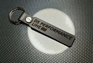 DS PERFORMANCE LINE DS 3 P BLACK Leather Keyring Sport THP 1.6 RACING DS4 DS5