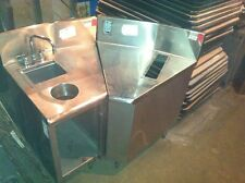 Lot of 2 corner counters - great for bar or food truck - SEND ANY OFFER!