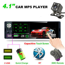 "Car Stereo Radio 1 DIN 4.1"" HD MP5 FM 2USB Player Touch Screen +Rear Camera"
