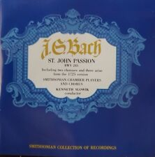 J. G. Bach Smithsonian Collection of Recordings 5xCD Box Set 1990 Classical Rare