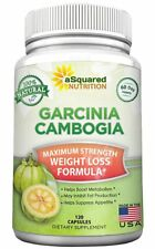 aSquared Nutrition Garcinia Cambogia Extract - 120 Capsules - High Strength HCA