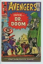 1966 MARVEL THE AVENGERS #25 DR. DOOM APPEARANCE VF   S1