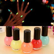 Candi Nail Art Colorful Fluorescent Neon lumineux polonais Laque Glow In Dark HA