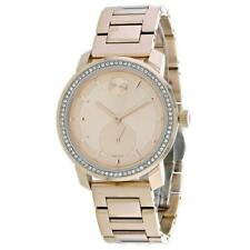 Movado Women's 3600618 Bold 36mm Rose Gold Dial Stainless Steel Watch