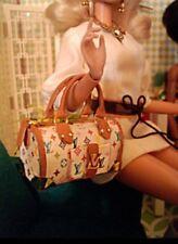 Sybarite fashion royalty barbie Poppy Parker bjd luxury Doll bag