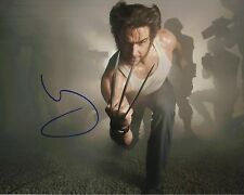 Hugh Jackman Signed 10X8 Photo Logan Wolverine AFTAL COA (7291)