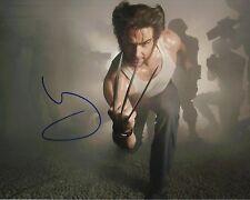 Hugh Jackman Signed 10X8 Photo Logan Wolverine AFTAL COA (7291)