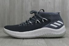 33 New Adidas Dame 4 Basketball Shoes Grey/White Men's 13 13.5 14.5 15 AC8650