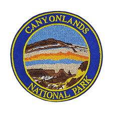 Canyonlands National Park Embroidered Patch Iron/Sew-On Applique Travel Souvenir