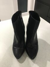 Geox Leather Boots Size 39 UK 6
