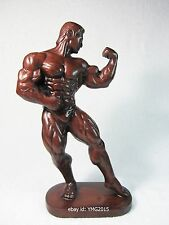 """10.5""""H """"Male Body Builder"""" Muscle Resin Statue for Decor and Collectible"""