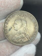 1890 Great Britain Double Florin VF+