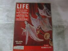Life Magazine December 29th 1952 Salzburg Marionettes Published By Time    mg474