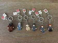 Lego Harry Potter Keychains Set Of 6
