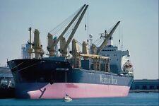 Letrero De Metal 795081 carguero San Pedro Harbor California Usa A4 12x8 Aluminio