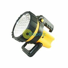 New Rechargeable Torch Heavy Duty 37 LED Tempered Lens Spotlight Bright Work