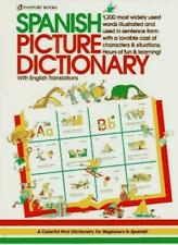 Spanish Picture Dictionary by  , Hardcover