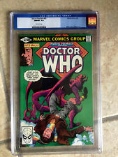 MARVEL PREMIERE #58 cgc 9.8 2nd American Comic Appearance of DOCTOR WHO 1981