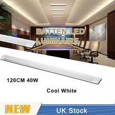 40W LED Slim Ceiling Batten Tubes Light Fluorescent 120CM Lamp Cool White UK