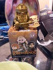Funko Mystery Minis Lord Of The Rings Gold Gimli 1/12 Barnes & noble Chase!!!!!
