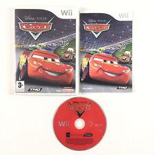 Cars Wii / Jeu Sur Console Nintendo Wii et Wii U Walt Disney Pixar Quatre Roues