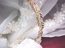 "Crafts Decorations Silky Shiny Organza 44/"" mds Pack of 1 Yard Bridal Solid Sheer Organza Fabric Bolt for Wedding Dress,Fashion Burgundy"