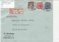 denmark 1926 stamps cover  Ref 8502