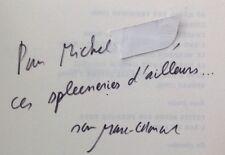 EO ENVÍO dedicatoria 1992 MARC-ÉDOUARD NABE : CARA TURCO EN LLANTO