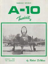 Fairchild Republic A-10 Thunderbolt II by R. De Maio (1981)