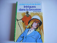 BIBLIOTHEQUE VERTE - INTRIGUES DANS LA BROUSSE - SUZANNE PAIRAULT -  1979