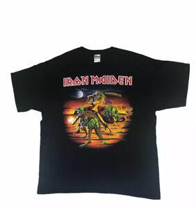 Iron Maiden 2011 Final Frontier Tour Shirt Tshirt Size XL Amazing Condition