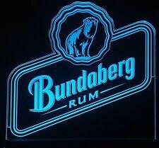 Bundaberg Rum Sign,Edgelit,Bar,Mancave,Led,Remote Control