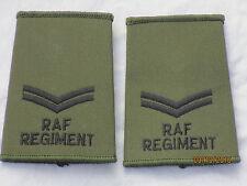GB Rank Loops: Corporal, Royal Air Force Regiment, RAF, Air Force, Olive