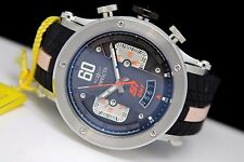 Invicta 21507 S1 Rally GMT Black Orange Pink 48mm 100m Mens Racing Watch