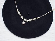5436bf77fa588c ZARA Statement Halskette Collier gold Schmuck Diamanten Steine Kette
