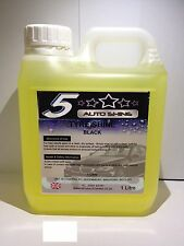 Tyre Shine Car Trade Valet OIL Tyre Slik Instant DRESSING On Or Brush 1Litre