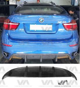 BMW X6 E71 M SPORT CARBON FIBER REAR DIFFUSER EXHAUST