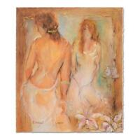 """Batia Magal - """"Femininity"""" Limited Edition Serigraph, Numbered and Hand Signed"""