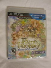 Rune Factory: Tides of Destiny PS3 (Playstation 3) nagelneu, versiegelt ~
