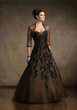 Mother of the Bride Dress Lady Formal Gown Evening Dress Free Jacket Custom Made