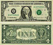 Amérique (USA) billet de 1 DOLLAR- one US DOLLAR