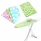 Drawstring Cotton Floral Flower Cloth Iron Ironing Board Cover Mat Pad Protector