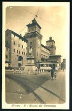 Ferrara : Piazza del Commercio - cartolina non viaggiata,  anni '30