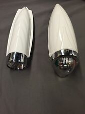 Schwinn Bicycle headlight LOT of 2 fits elgin and Columbia cruiser bicycles