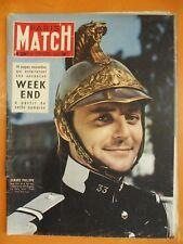 Paris Match 328 du 09/07/1955-Gérard Philippe-14 pages nouvelles de vos vacances
