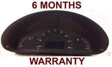 2002 Mercedes Benz C240 speedometer instrument cluster - 6 MONTH WARRANTY