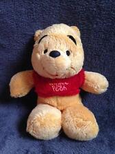 306-Peluche Doudou Winnie l'Ourson The Pooh- 22 cm- DISNEY NICOTOY- TBE- 2 dispo