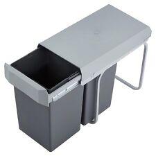 Wesco Double Boy 30 DT 2 x 15 Liter Einbau Abfallsammler Mülleimer