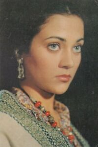 Bollywood Actress Postcard - Mandakini (02)