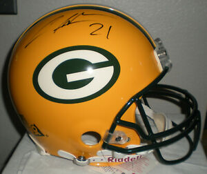 Charles Woodson Green Bay Packers Autographed Proline Helmet - Becket COA T16221